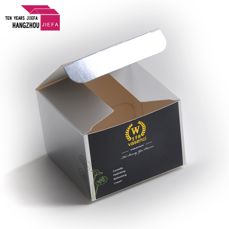Custom made fashion fancy color box/packaging paper box for cosmetic
