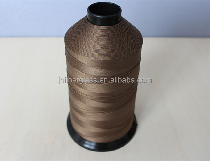 high strengh and high temperature resistance sewing thread for filtration bag