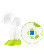 OEM factory price music play care breast pump enlarge with twin cup