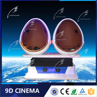 Lechuang 9D Cinema Supplier 9D Theater Simulator Cinema Dynamic Virtual Reality Egg Cinema