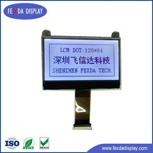 128*64 CoG FSTN Gray Transparent LCD Display Module