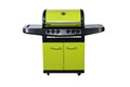 CBA-411BYB gas grill with side burner and rear burner with wonderful color