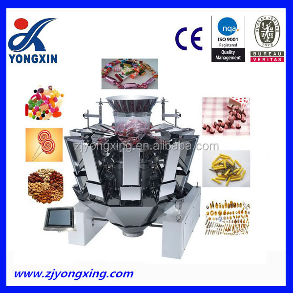 Combination MultiHead Weigher Machine