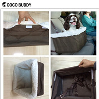 2016 hot new name brand pet dog travel bags dog booster seat OEM /ODM