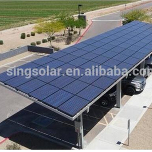 special carport for car parking 50kw solar power system