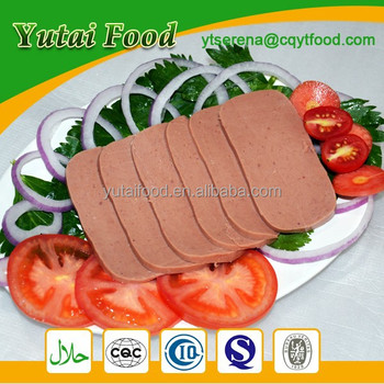 Private Label Canned Food Beef Luncheon Meat