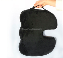 Coccyx Orthopedic Comfort Lower Back Pain Hemorrhoid Memory Foam Seat Cushion for Car