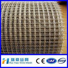 galvanized/ stainless steel crimped barbecue grill wire mesh / crimped wire