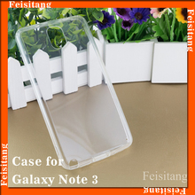 Transparent materials Mobile phone cover cases for Samsung galaxy note 3 ,feisitang mobile phone accessories factory in china
