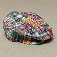 fedora patchwork fabric hats for men
