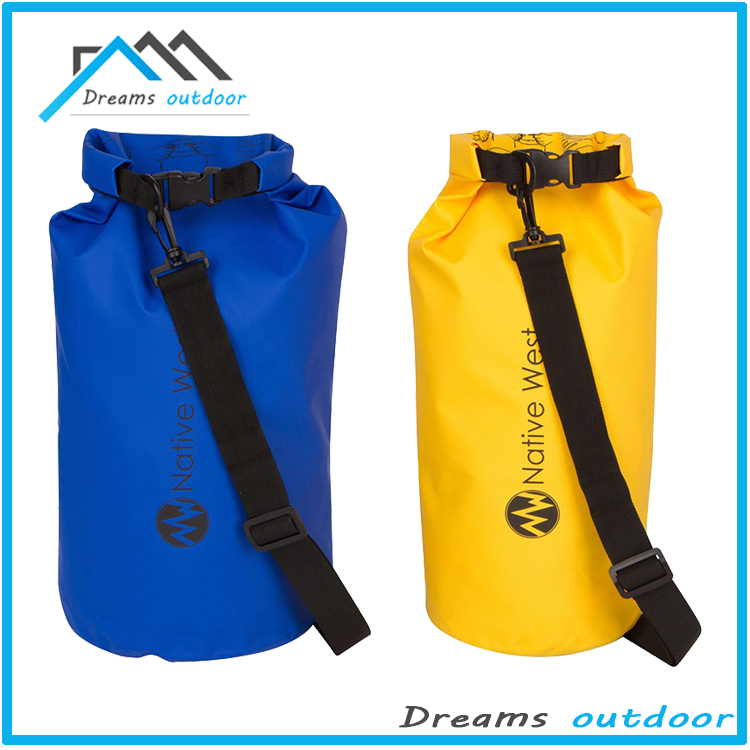 20L Waterproof Dry Bag, OXA Roll Top Closure Dry Bag Sack with Dual Shoulder Straps for Kayaking Boating Camping