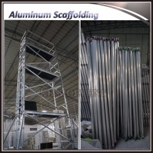 Portable mobile aluminum scaffold tower with platform