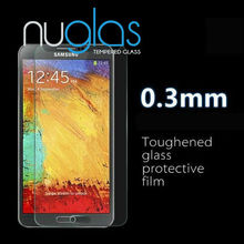 2016 cell phone accessories for samsung note 3,Nuglas premium tempered glass screen guard