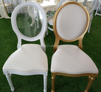 factory wholesale stackable wedding chair chiavari louis ghost dining chair