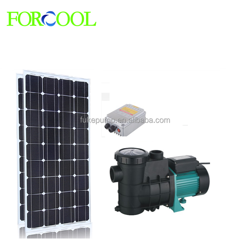 48V for swimming pool high efficiency solar DC submersible pump