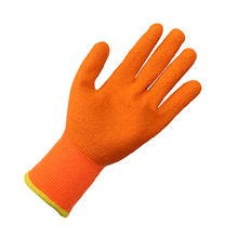 Wholesale cotton knitted latex coated working safety gloves