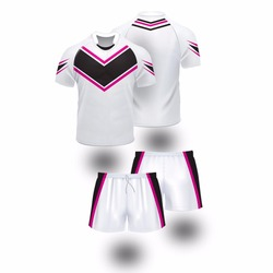 Blank Sublimation Rugby League Jersey And Shorts