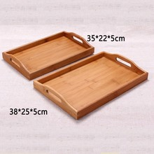 bamboo tray hotel supplies , Rectangular bamboo tray, western hotel supply