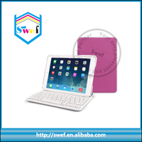 Hot sale removable bluetooth wireless keyboard case for ipad mini