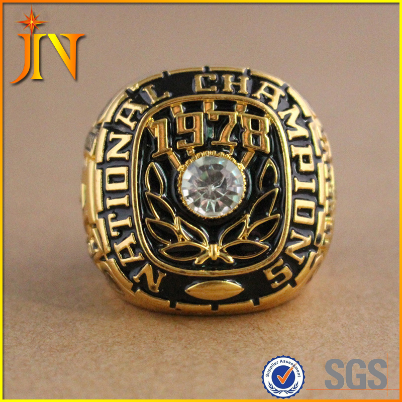 CR0019 JN Jewelry Wholesale High Quality Alabama Crimson Tide 1978 National Championship Ring Replica