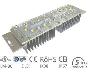 SMD5050 Waterproof Outdoor LED Module with Lens 30w 40w 50w 60w