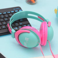 2015 Best stylish folding big ear custom retro color headsets