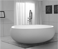 Used acrylic bathtub, freestanding hip bath with Small Sizes
