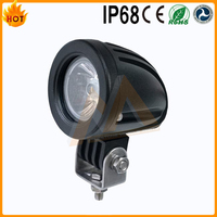 High Intensity super bright moto mini LED work light 10W LED round work lamp