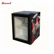 Glass Door refrigerator Can Beverage Cooler Soda Coke Fridge Refrigerator NEW