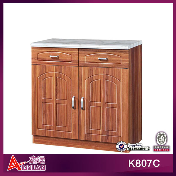 antique assemble easy kitchen cabinet pressed wood