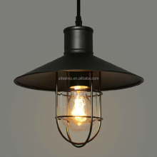 Arabic black vintage cage marine style pendant lighting light for kitchen