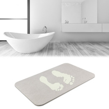 Eco-Friendly Featured Instant Dry Non Slip Bath Rugs Shower Mats