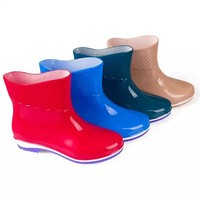 Hot Selling Ankle Rain Boots For Women