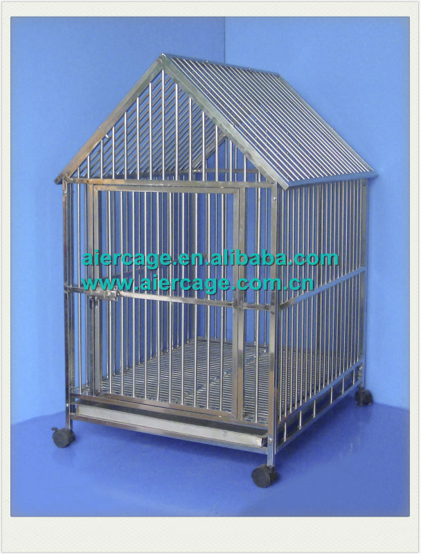 Manufacurer animal crate stainless steel cages