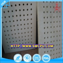 CNC machining promotional perforated plastic sieve mesh plate