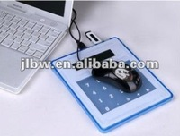 Multi-function Calculator With Usb Hub and Mouse Pad /desktop 8 digital calculator