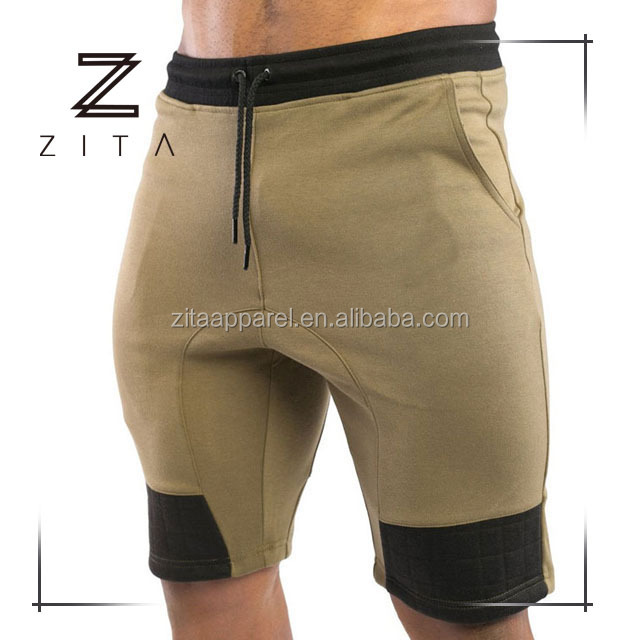 Hot Training Sports Apparel Mens Fitted Sweat Shorts Custom Running Track Shorts