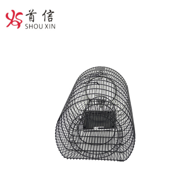 Live Catch Rat Trap Iron Wire Humane Mouse Trap Rodent Cage