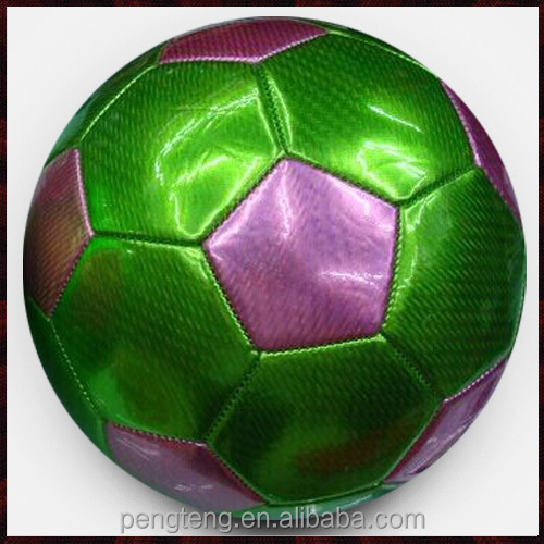machine stitched size 5 laser pvc football/thai quality soccer