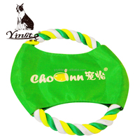 Durable Fabric dog frisbee training outdoor pet toy