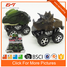 2016 Brand new dinosaur design mini friction toy cars for boys