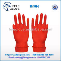 50g popular good quality Household latex Gloves unlined sexy rubber Gloves