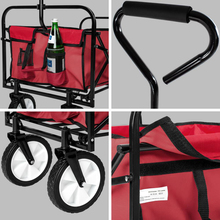Collapsible Folding Outdoor Utility cart bollerwagen