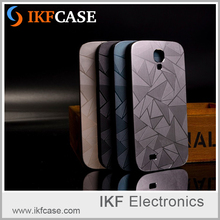 Hot Selling 3D Luxury Aluminum Metal Water Cube+PC Material Mobile Phone Case For Samsung Galaxy S4