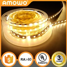 purple colour intelligent rgb Ra80 126eds 25.2W 2835 LED strip with UL Listed