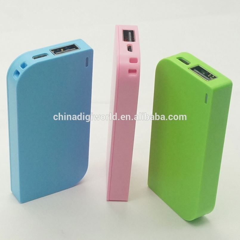 Good Price Portable 2600Mah Usb Mobile Power Bank Mini So