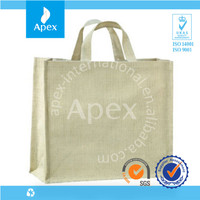 Printed cotton canvas tote bag for clothes packaging bag with gusset