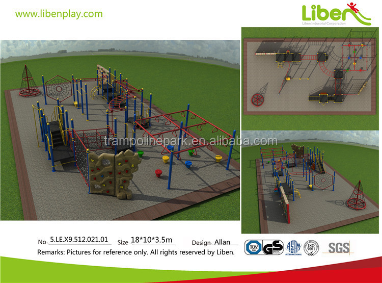 Liben outdoor playground climbing net daycare outdoor playground equipment