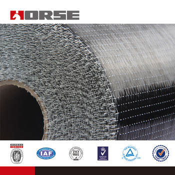 0.167mm thickness Carbon Fiber Fabric for structural strengthening