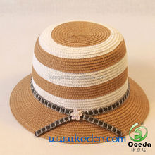 2015 Fashion Ladies Straw Beach Hats To Decorate